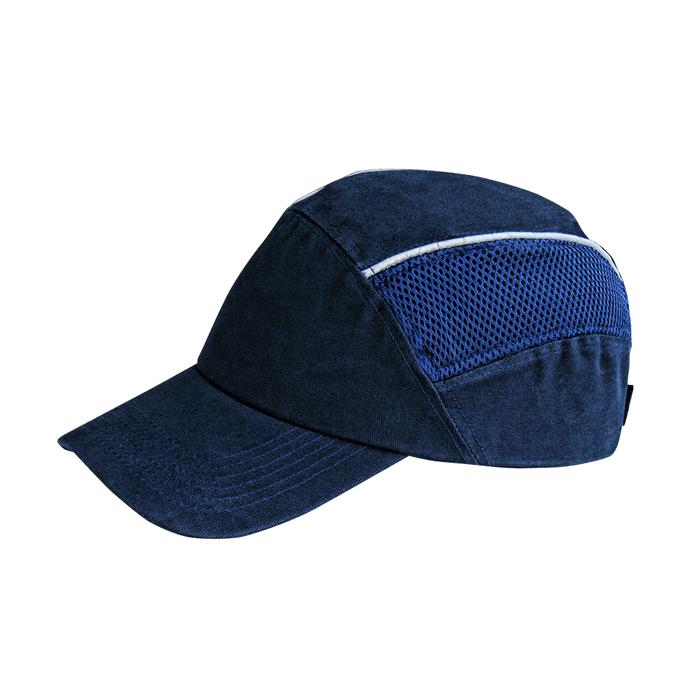 casco-steelpro-bump-cap-azul